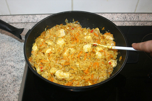 39 - Curry verrühren / Fold in curry
