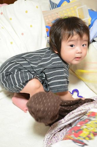 赤ちゃん 甚平さん