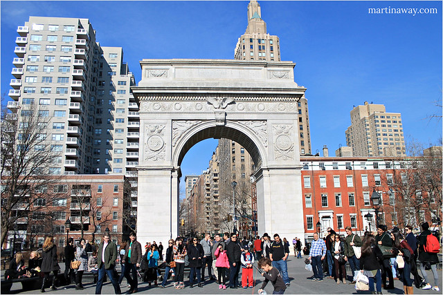 @ Washington Square Park.