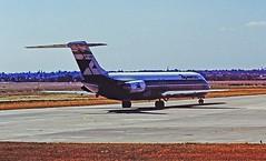 EC-CGR DC9 Aviaco BHX 24-07-1984