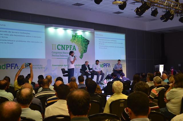 II CNPFA - 30/11/2016 - Palestras sobre Mercado de Terras