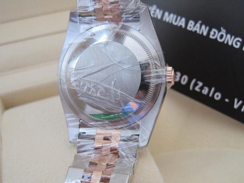 Nhận đặt hàng đồng hồ rolex datejust 6 số 116231 new 100% – Mặt vi tính xoàn – Đè mi vàng hồng – size 36mm