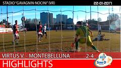 Virtus V.-Montebelluna del 22-01-17