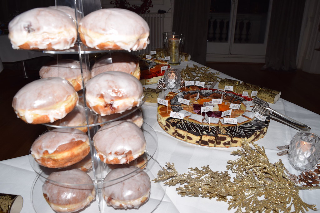 Delicious Treats at Christmas Party