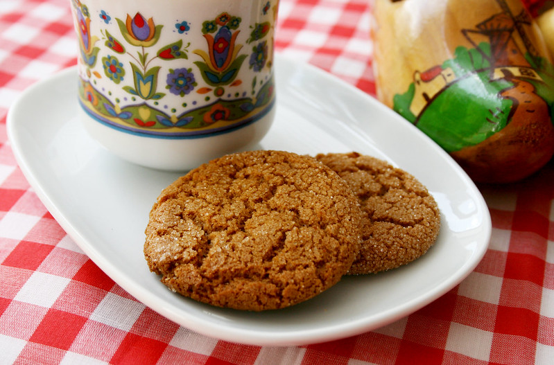 triple ginger ginger cookies