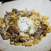 Spaetzle, duck confit, maitake mushrooms, chestnut, 62-degree egg