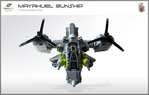 Mayahuel Gunship - DA2 - Front