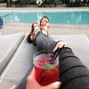 A bit of pool time before dinner. 🍹 by graphpaperheart