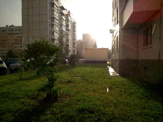 Дождь и солнце // Rain and Sun