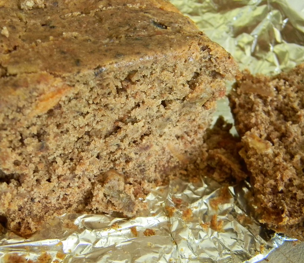 Gluten Free, Vegan Applesauce Cake