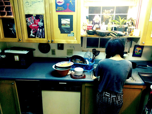 Ana Washing Dishes (July 24 2014) (1)