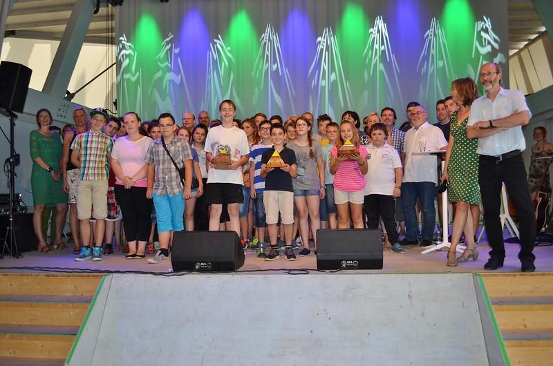 Karlsruhe: Verleihung Grüne Pyramide - 24.07.2015