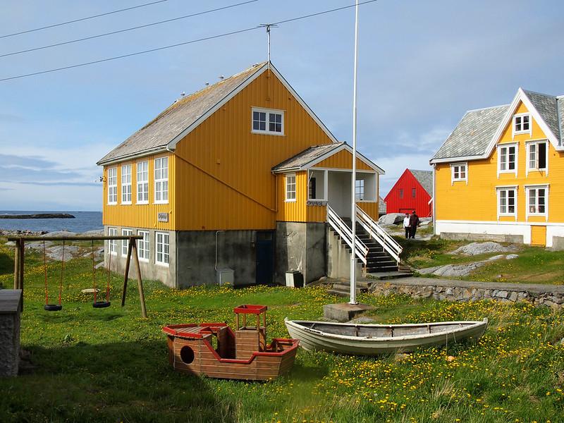 Houses on Gripholmen, Norway