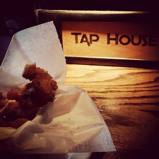 Yum! No racing turned into lunch at #TapHouse Panko crusted fried mozzarella cheese curds appetizer #603 #madeinnh #farmtotable #foodie #foodstagram #instafood #taphousegrille