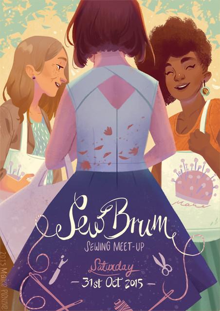 Sew Brum Meet-Up Logo