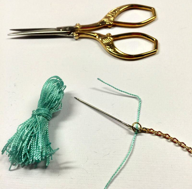 HR Tassel Necklace 4
