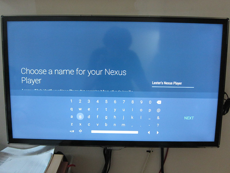Nexus Player - Rename Player