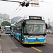[Buses in Beijing] Foton AUV - Huayu BJD-WG120F <Trolley-bus> BPT #95616 Line 104 at Beijing Railway Station West