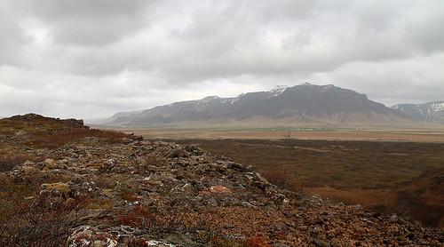 mountains iceland eldborg