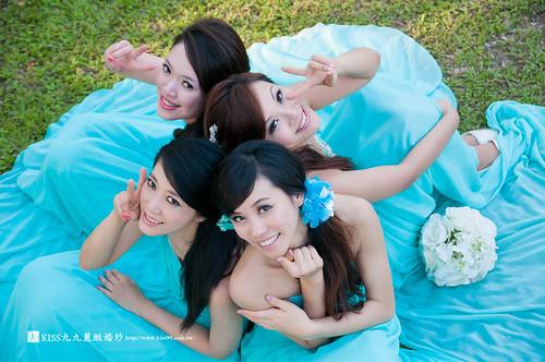 高雄KISS九九麗緻婚紗~跟閨蜜一起拍婚紗!紀念我們逝去的青春… (10)