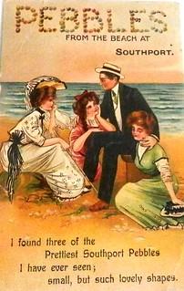 Vintage postcard of Southport, Queensland
