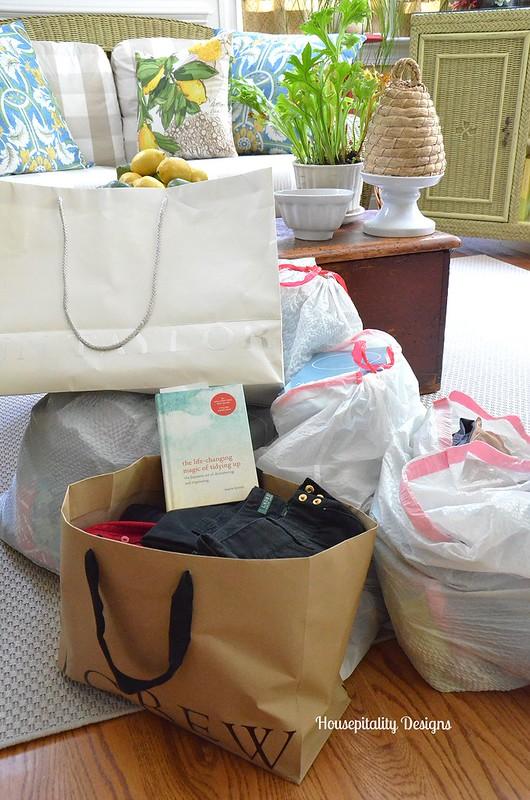Organizing and Donating - Housepitality Designs