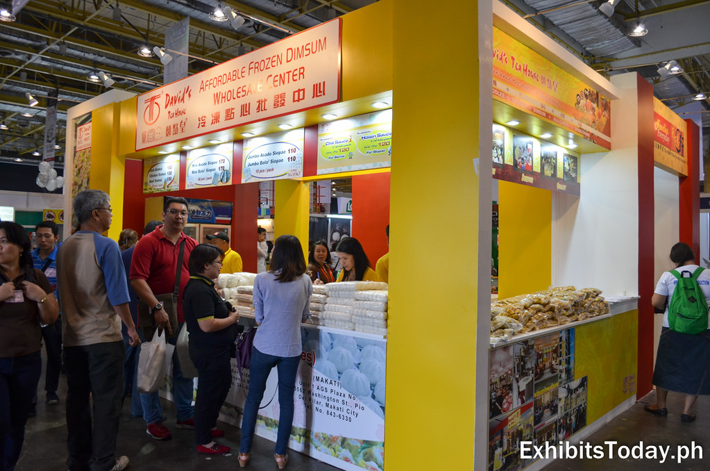 David's Tea House Exhibit Booth Wholesale Center