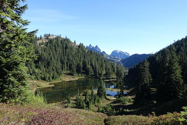 Trailside lake