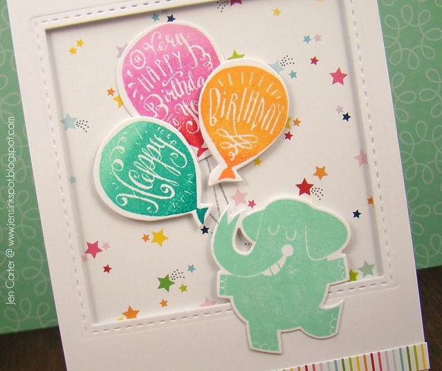 Jen Carter LID Elephant Birthday Party Closeup