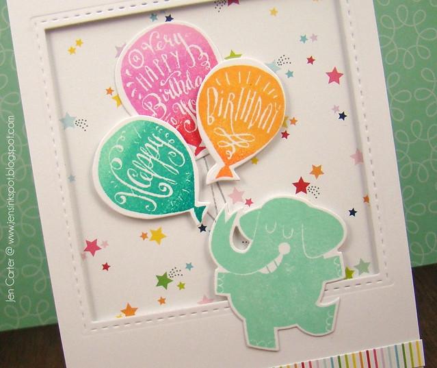 Jen Carter LID Elephant Birthday Party Closeup