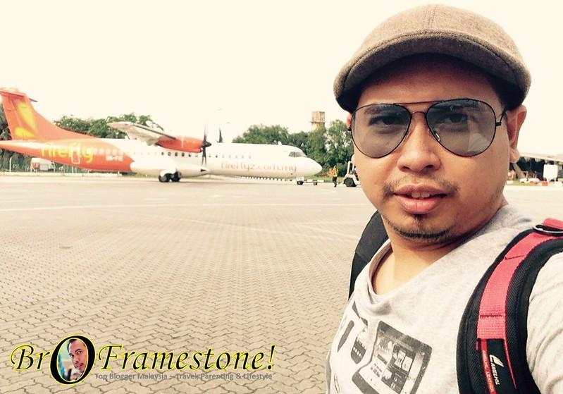 Pengalaman Pertama Menaiki Penerbangan Firefly dari Subang ke Medan