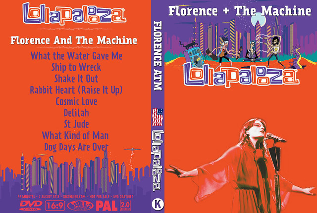 Florence - Lollapalloza 2015