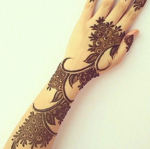 Traditional Mehndi Designs Book 2016