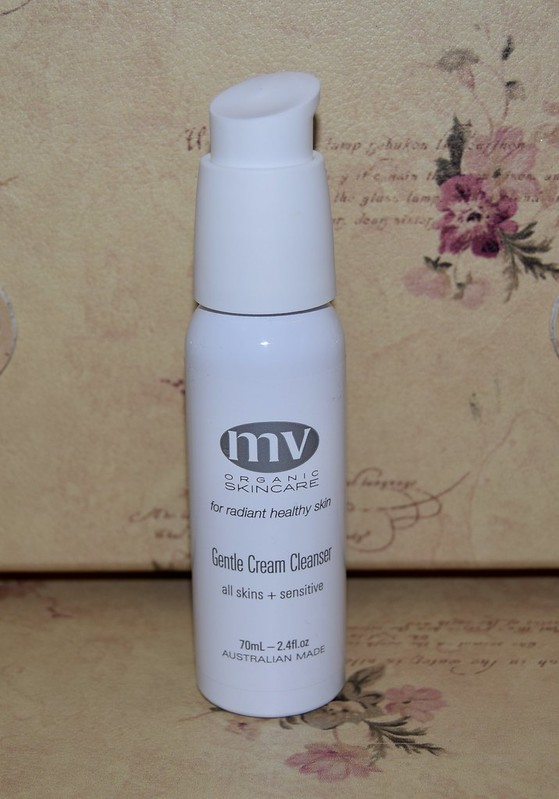 mv organic skincare cream cleanser