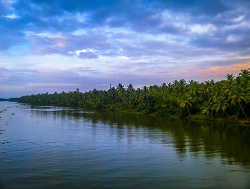 kerala tour travel art photography vivid landscape india river backwaters clouds colours