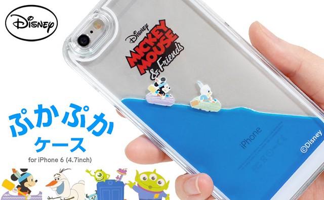 清涼感十足的夏季消暑手機殼!迪士尼角色漂浮手機殼~