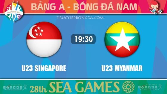 U23 Singapore vs U23 Myanmar