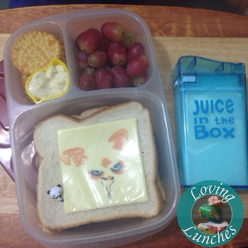 Loving an easy #Shifu for tomorrow's @easylunchboxes … brain break is some milk in our new #JuiceInTheBox thanks to @boardwalkimports Miss M has loved this container so much that she's asking for it every day! #JIB #easylunchboxes #KungFuPanda