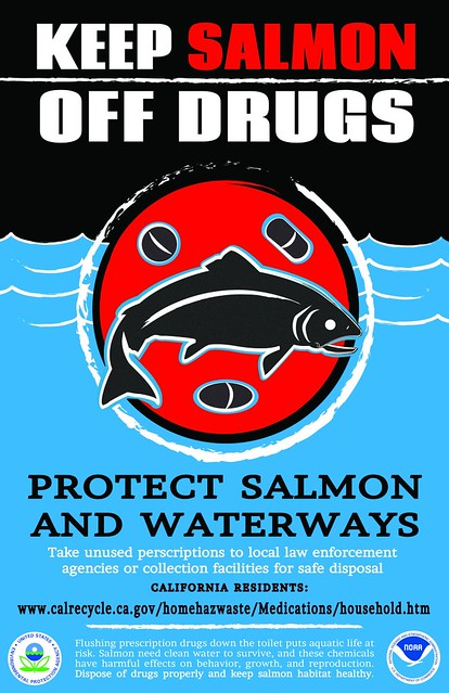 ca salmon off drugs poster electronic version