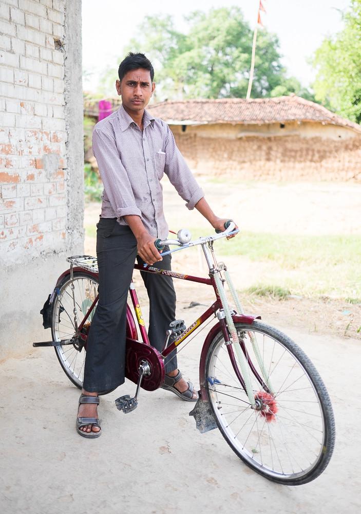 Biycle Portrait