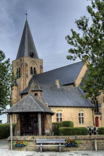 Sint-Pieters-Kapelle, Mariakapel en Sint-Pieterskerk.