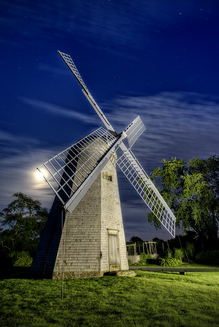The Robert Sherman Windmill (1812) by Frank Grace