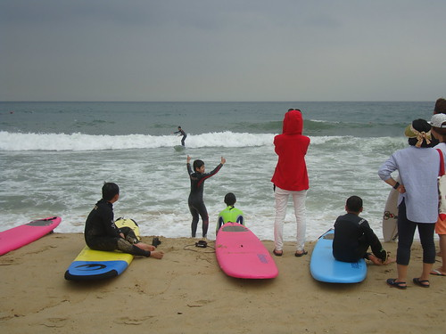 Haeundae Beach Surfing Competition