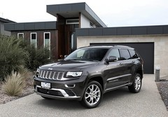 automobile(1.0), automotive exterior(1.0), sport utility vehicle(1.0), family car(1.0), wheel(1.0), vehicle(1.0), compact sport utility vehicle(1.0), jeep grand cherokee(1.0), jeep(1.0), bumper(1.0), land vehicle(1.0), luxury vehicle(1.0),