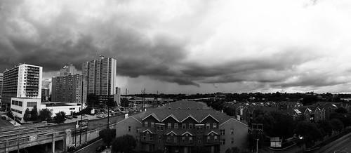 Storm over Harrisburg