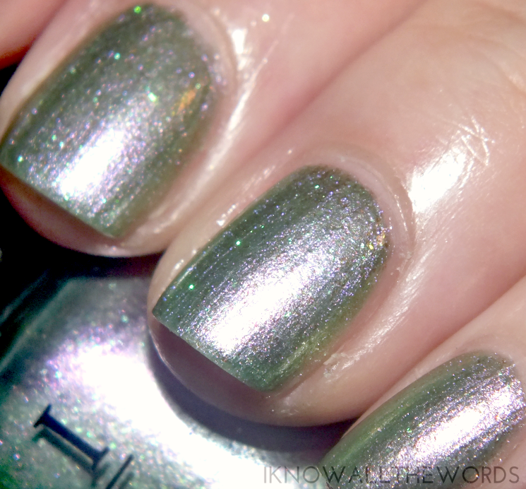 coca cola x opi two to celebrate Visions of Georgia Green (1)