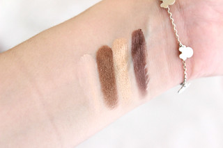 Swatch Maybelline The Nudes Warm Quad