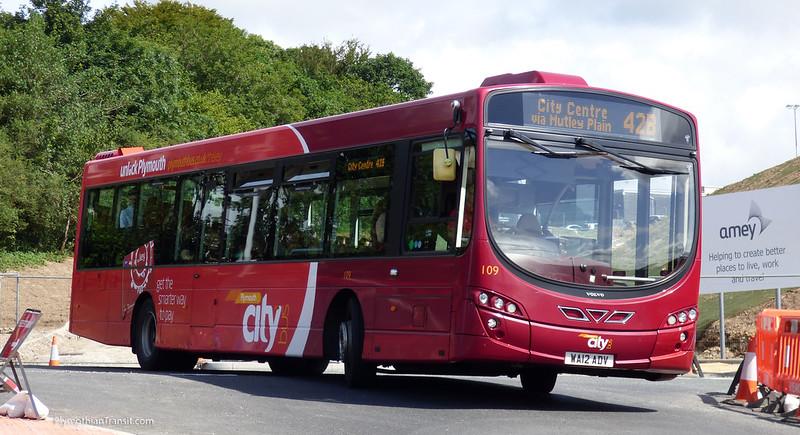 Plymouth Citybus 109 WA12ADV