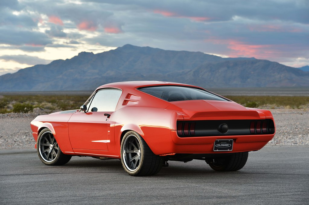 The 1968 Villain Mustang Fastback: Bad to the Bone!