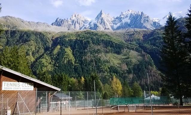 tennis club chamonix